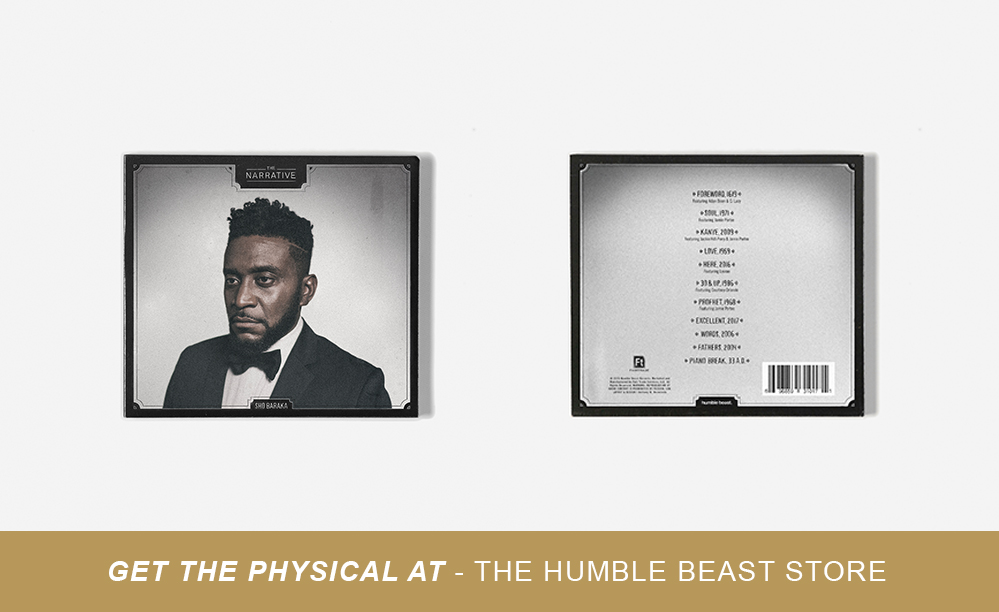 You can also support Humble Beast by purchasing the physical version of The Narrative at the Humble Beast online store.