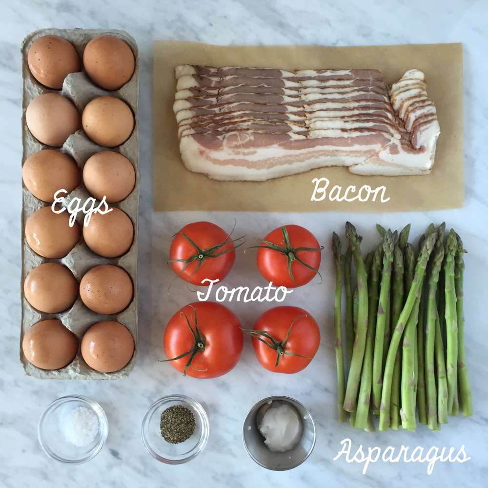 Asparagus And Bacon Egg Muffins