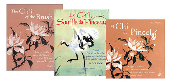 Nan Rae's book The Ch'i of the Brush has been translated in Spanish and French