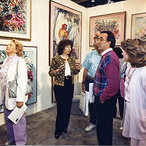 Nan Rae exhibits at Art Expo