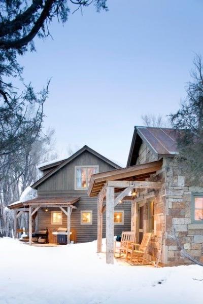 Boulder cabin via  Houzz