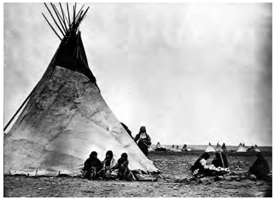 Arapaho Teepees via  What When How