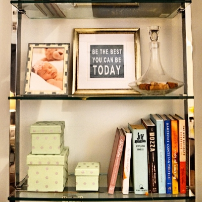 (10) Display Who You Are - image via  Lindsay Saccullo Interiors Instagram