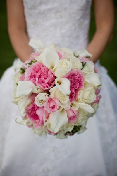 My wedding bouquet - by  Designing Images Florist , photographed by  Click Imagery