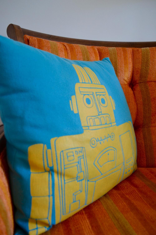 Robot Pillow from  Land of Nod