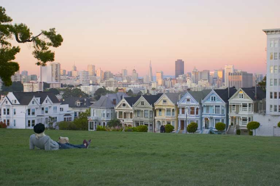 Alamo Square Park (Everywhere ya look, everywhere ya look...)