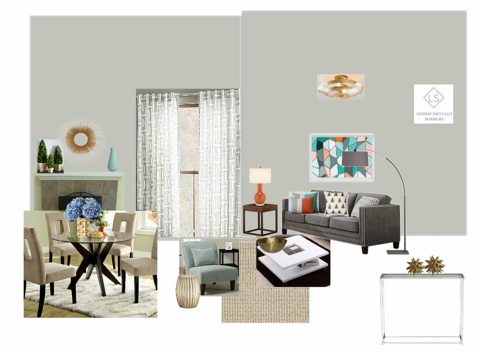 A Contemporary and Affordable Living Room