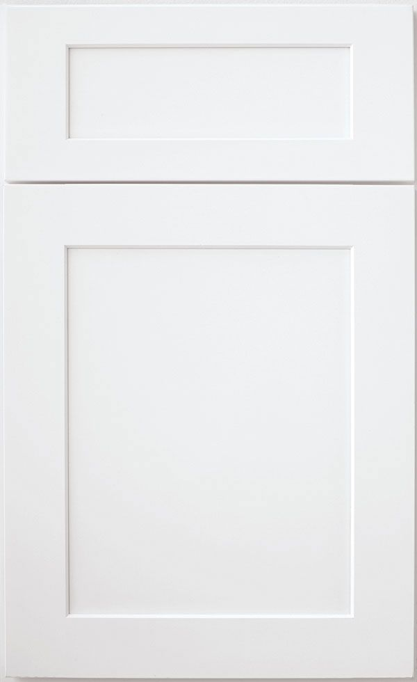 Shaker Style White Wood Cabinetry
