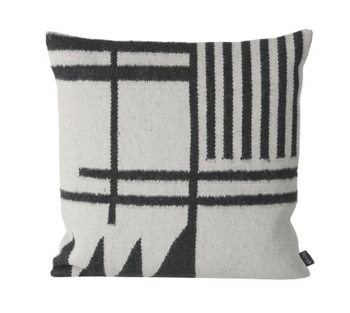 Black Line Pillow