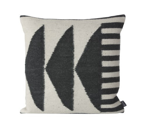 Kelley Black Triangles Pillow
