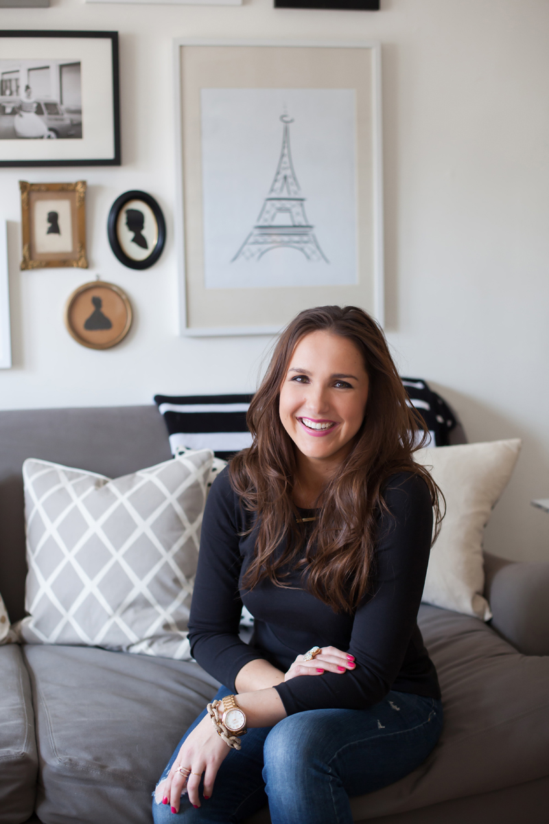 :: TheEveryGirl co-founder Alaina Kaczmarski's Lincoln Park Apartment Tour :: BECAUSE I REALLY LOVE THEEVERYGIRL