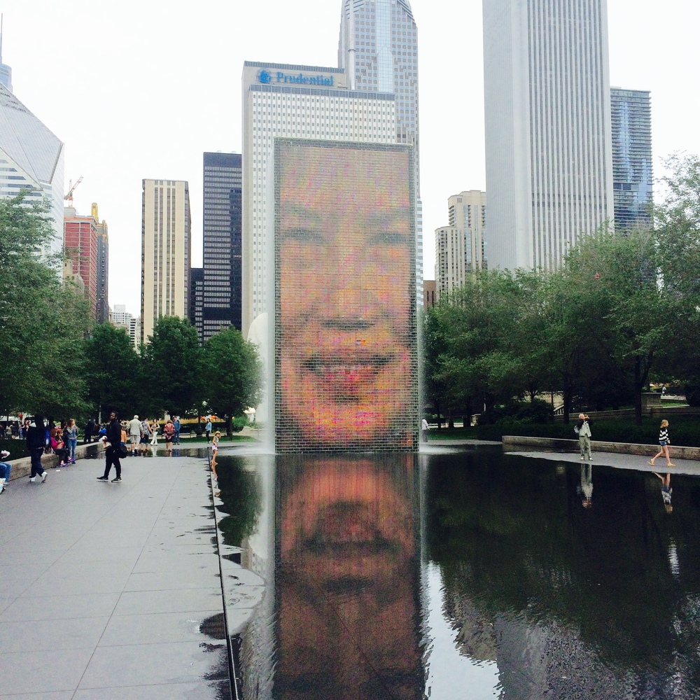 :: the crown fountain ::