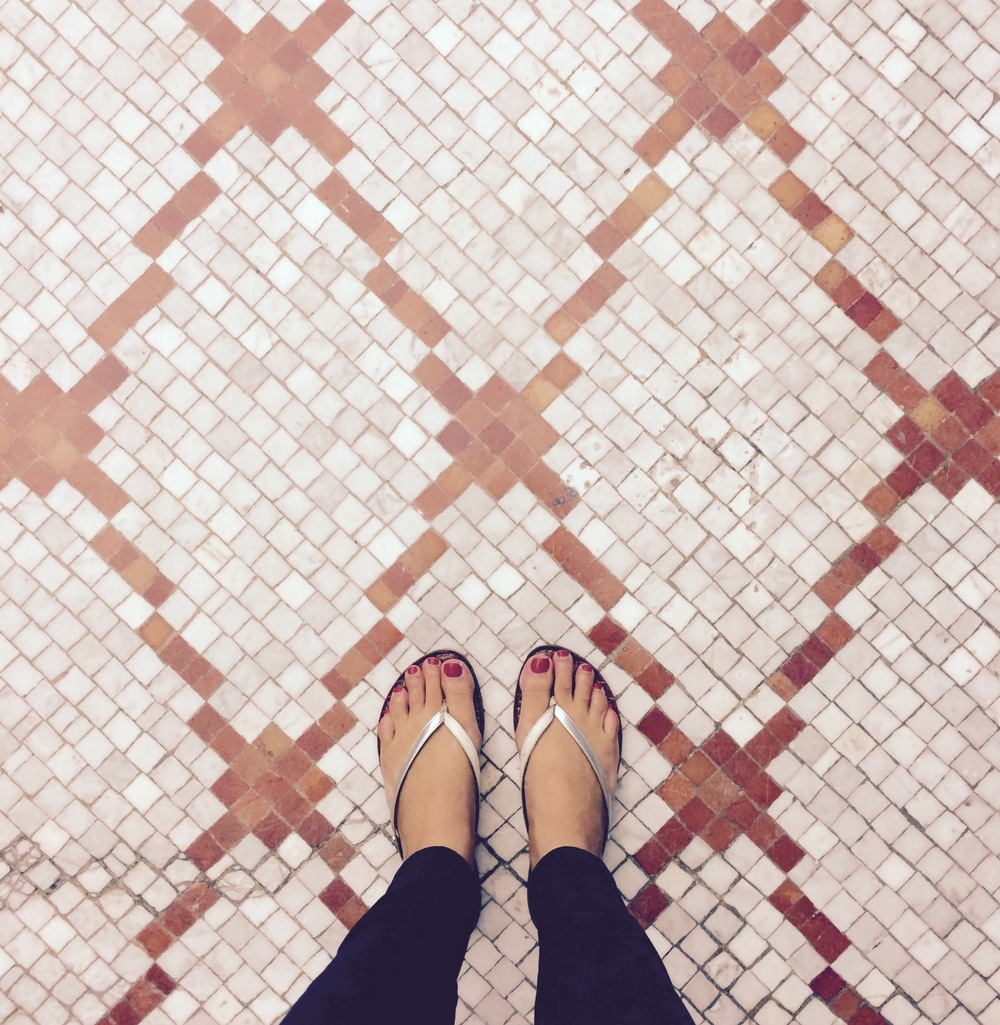 :: these mosaic floors! :: chicago cultural center ::