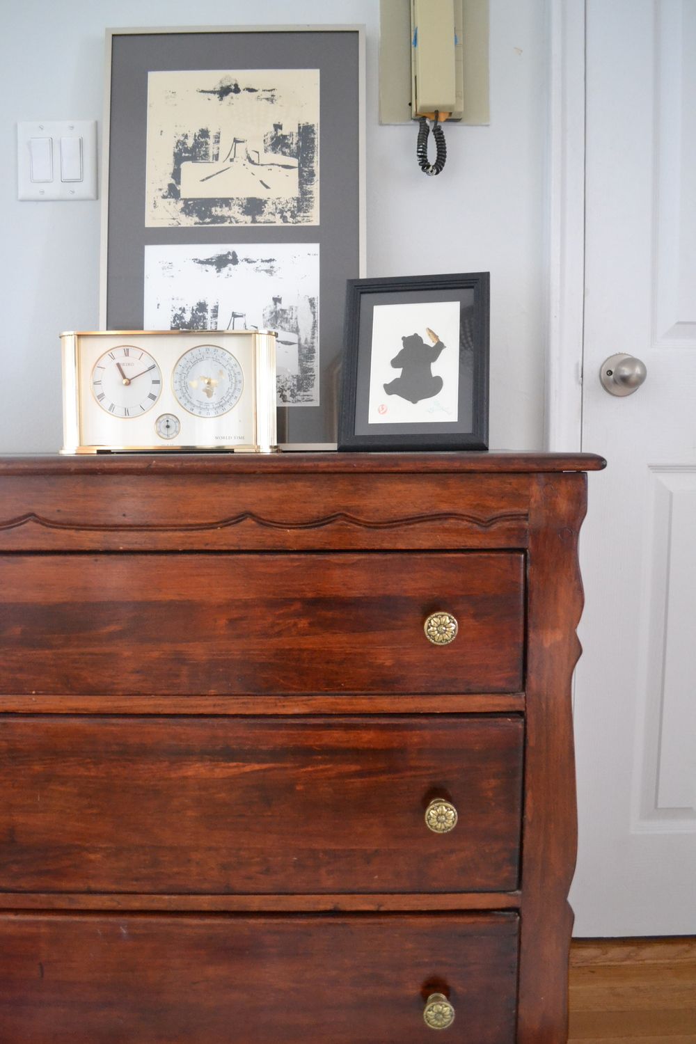 How cute are the knobs and details on this piece?