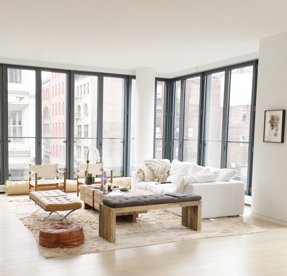 A Modern Eclectic Loft in Soho