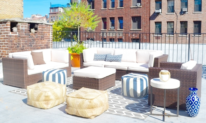 Outdoor Duplex Space in NYC