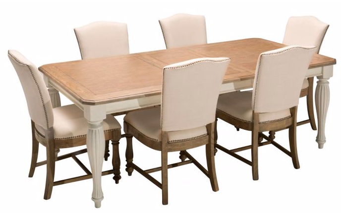 Fair Harbour Seven Piece Dining Set For The Dining Area