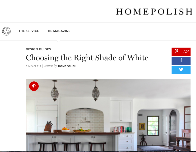 Homepolish - Choosing the Right Shade of White