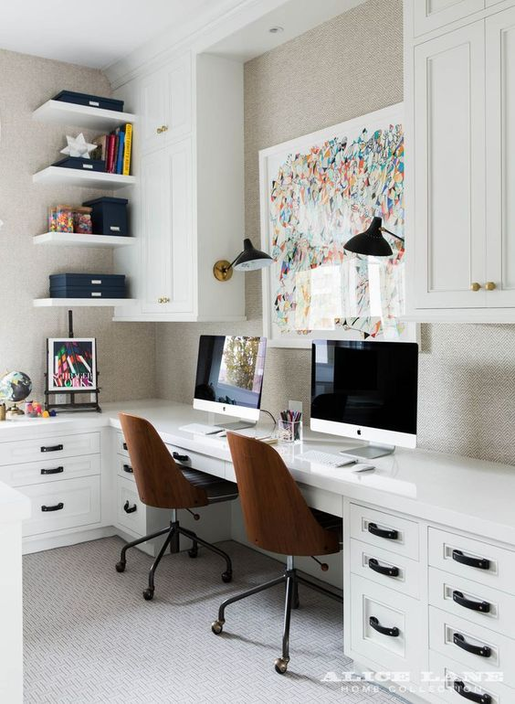 Home Office designed by  Alice Lane