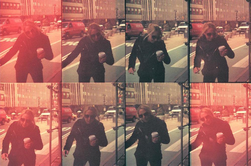 """Voodoo Street Dancin'- Pt 2"" Dangerous Games s    eries  by  Bosquejo Vida  . Oktomat Bullseye  , 35mm.  manual overexposure.Model: Lady D"