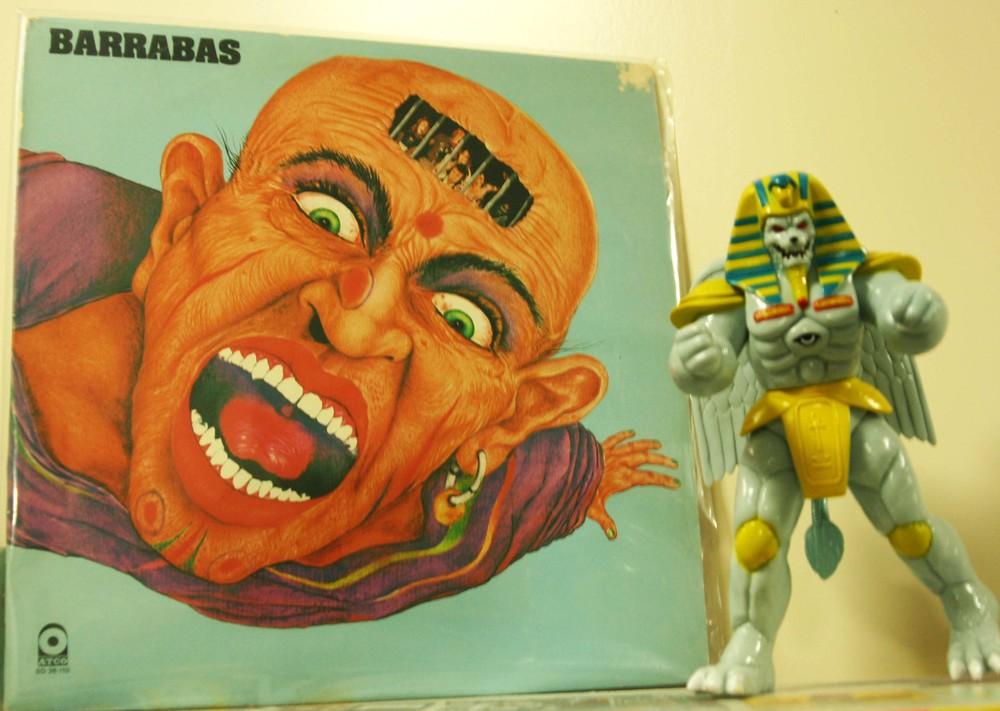 ¡SoltadaBarrabás!  Barrabas, 1974. Sleeve Design by  Miguel A. Lopez Parras