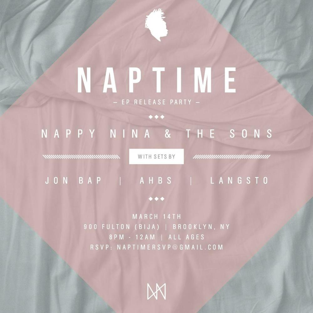 NAPTIME- EP Release Party