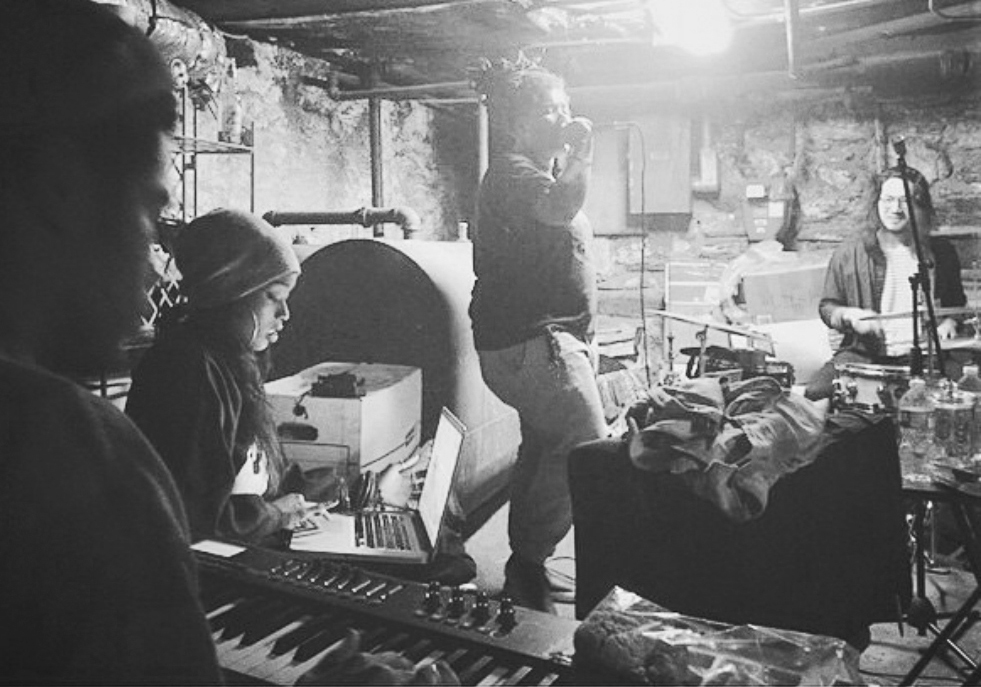 Nappy Nina  & The Sons  [photo via her  Instagram ]