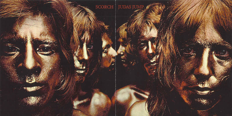 Scorch   Judas Jump, 1970. Sleeve Design by    Steven Thomas