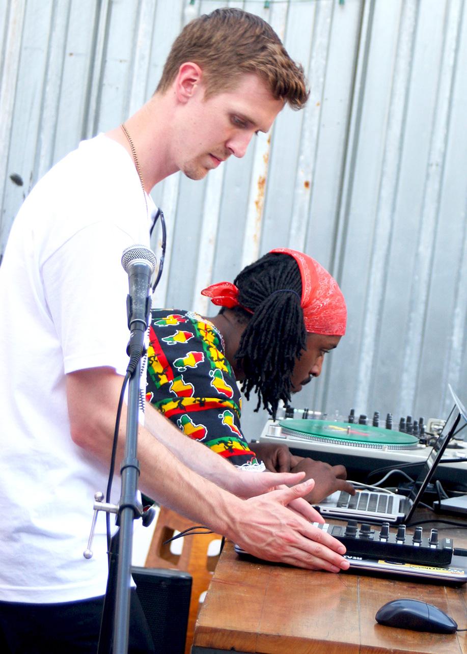DJ Jester  &  Iman Omari