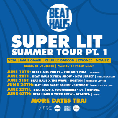 Beat Haus Super Lit Summer Tour Dates Part 1