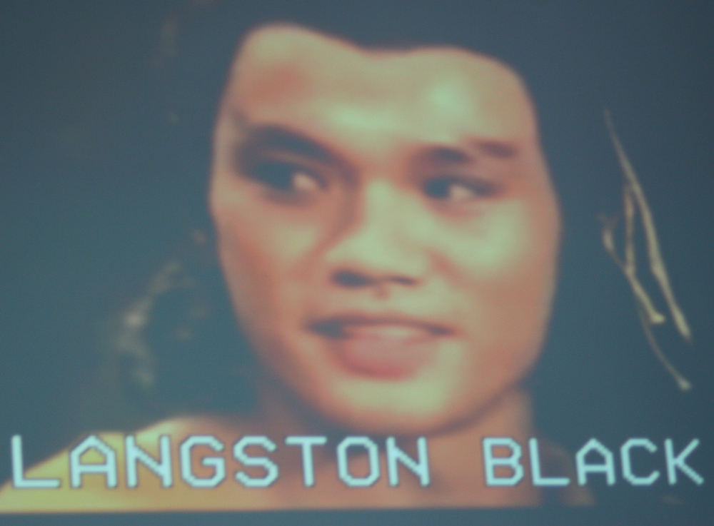 Langston Black      // Visual Art Projections by    Sofya Levina