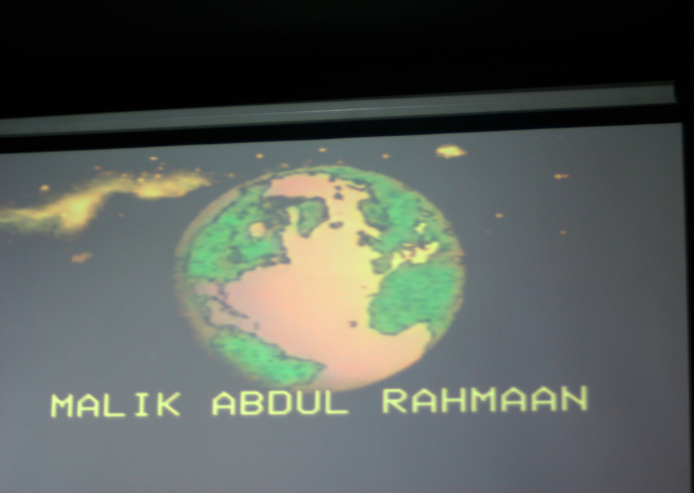 Malik Adul-Rahmaan       // Visual Art Projections by    Sofya Levina