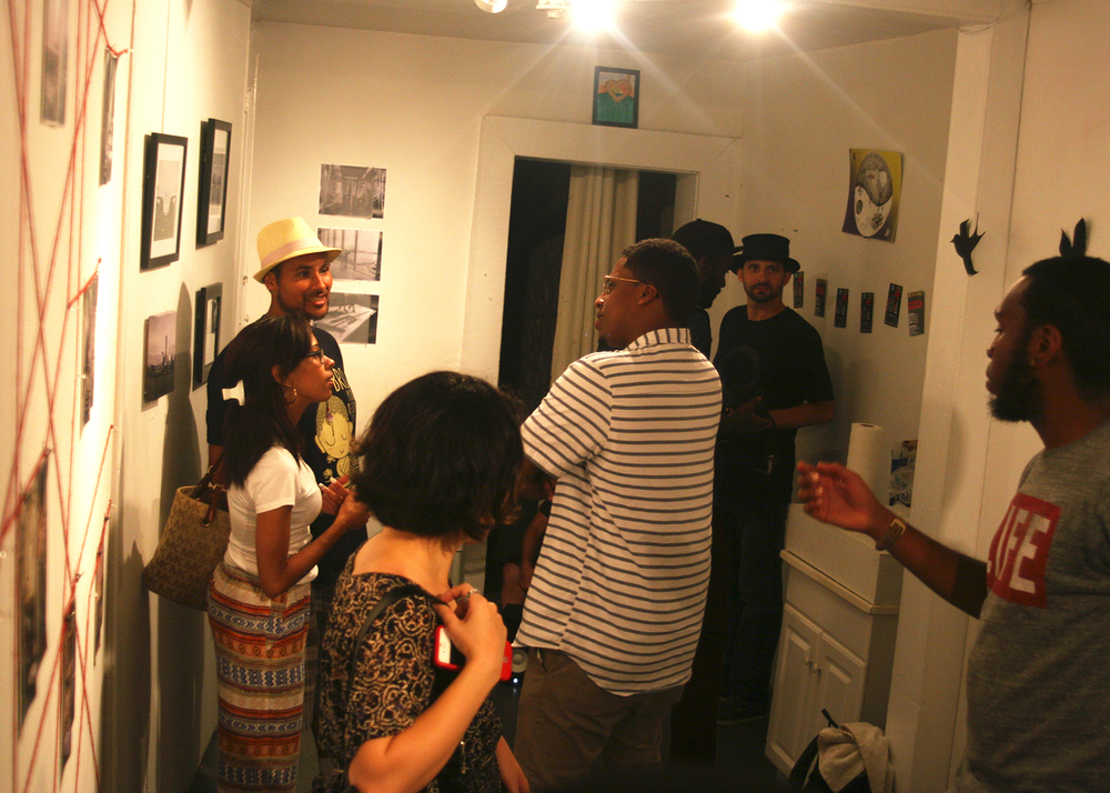 Life and Death in The Age of Ghost art show, curated by Lateef Dameer at Undercurrent Projects Gallery (recap) Image 8