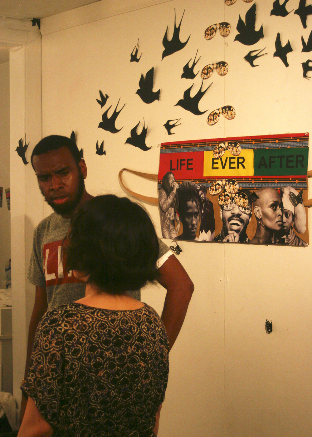 Life and Death in The Age of Ghost art show, curated by Lateef Dameer at Undercurrent Projects Gallery (recap) Image 7