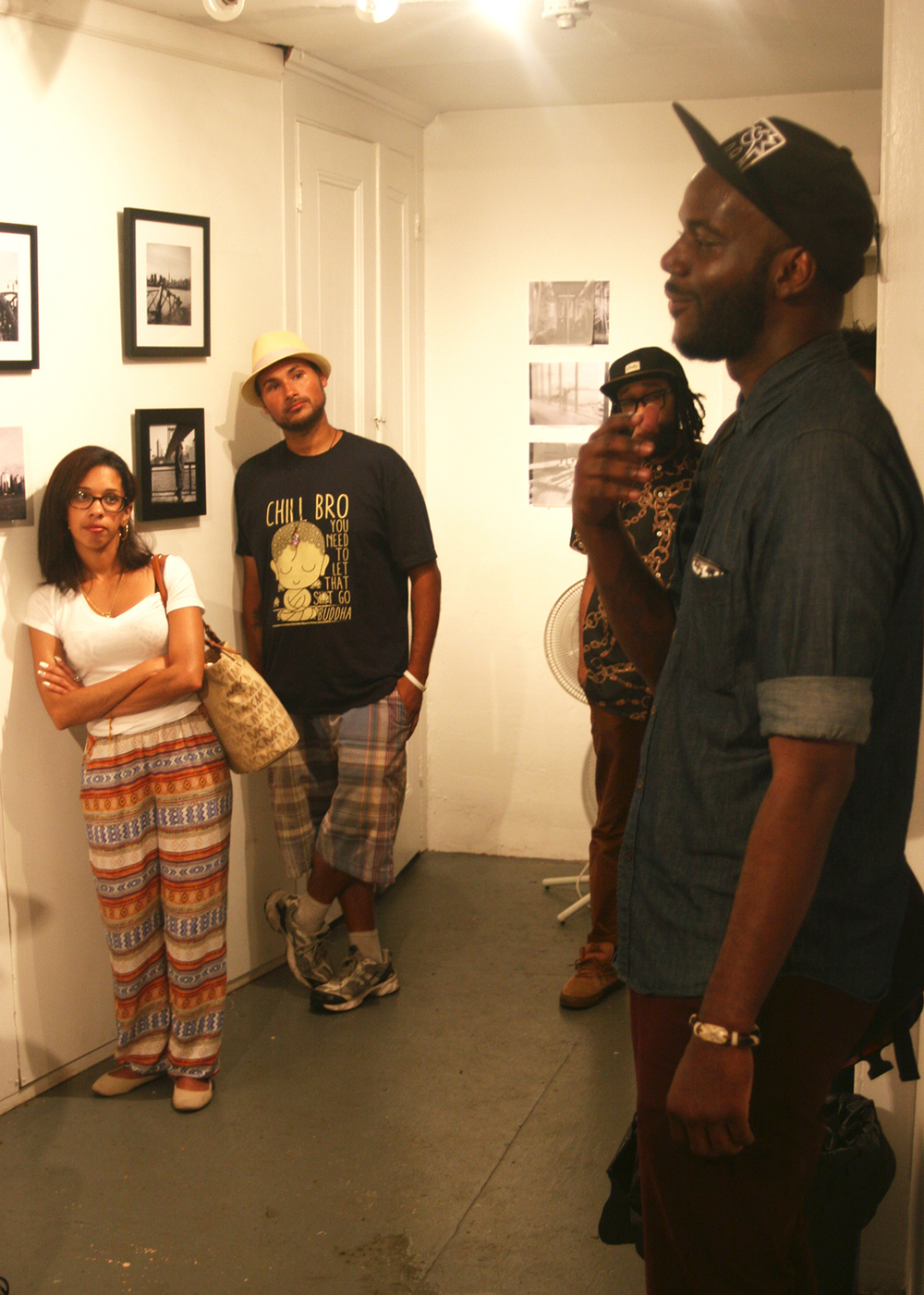 Life and Death in The Age of Ghost art show, curated by Lateef Dameer at Undercurrent Projects Gallery (recap) Image 10