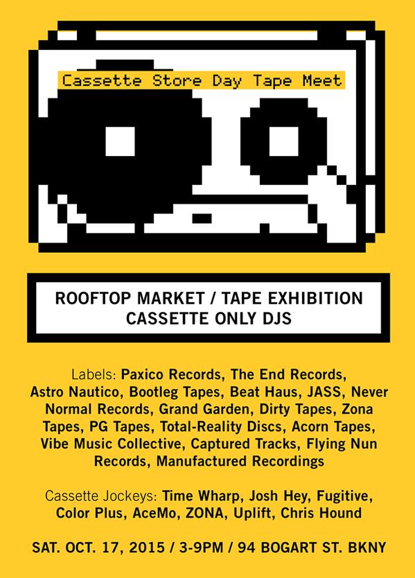 Flyer via  Paxico Records
