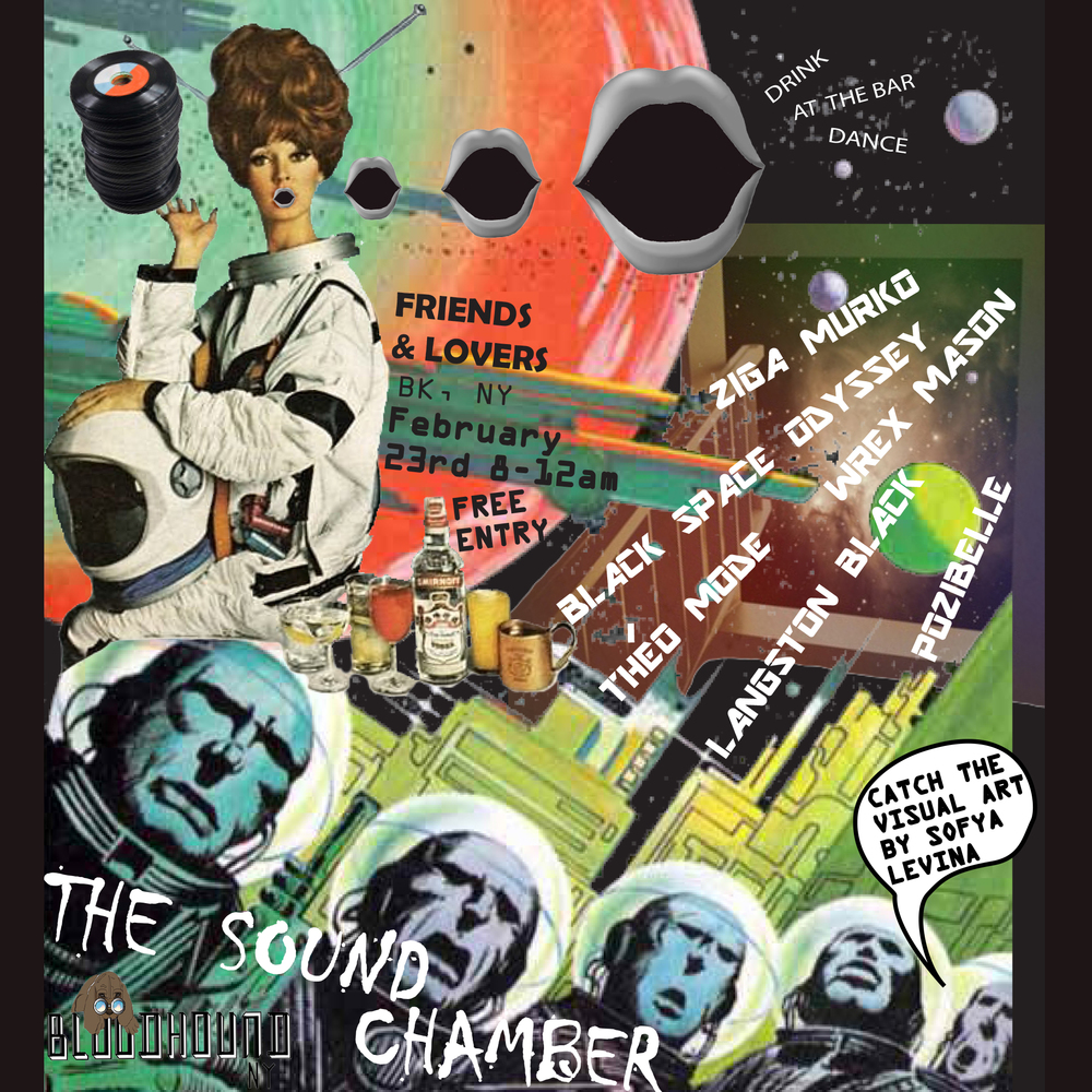 Bloodhound NY presents The Sound Chamber VIII (December show) Flier