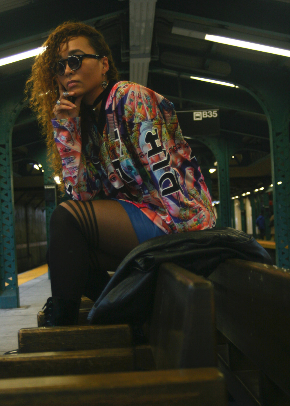 Nirvana (Mishka NYC  Men's Streetwear) Bosquejo Vida Image 5