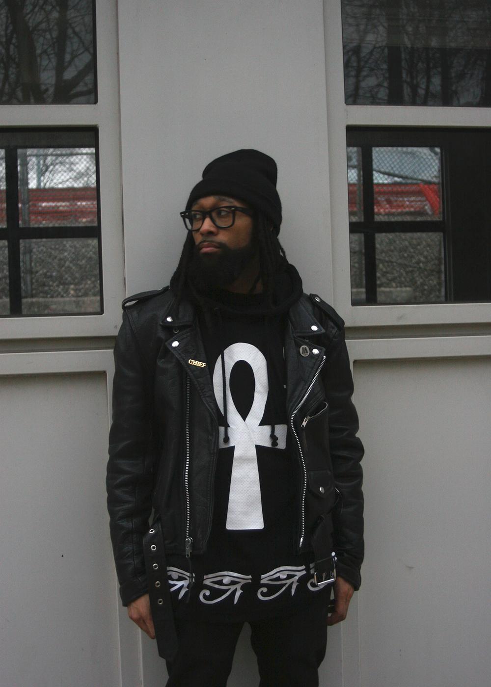 Nirvana (Mishka NYC  Men's Streetwear) Langston Black aka Lang$to Image 3