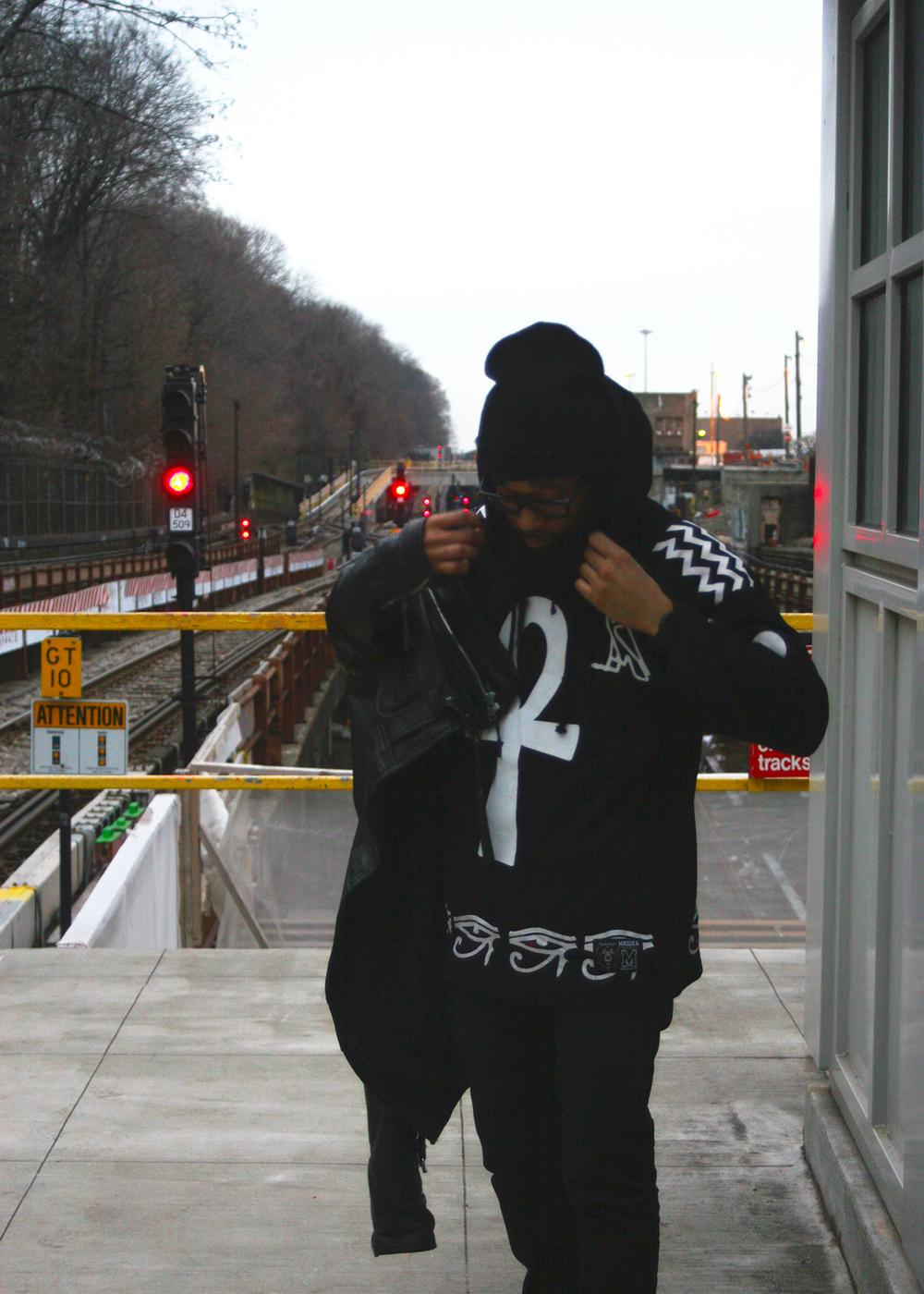 Nirvana (Mishka NYC  Men's Streetwear) Langston Black aka Lang$to Image 6