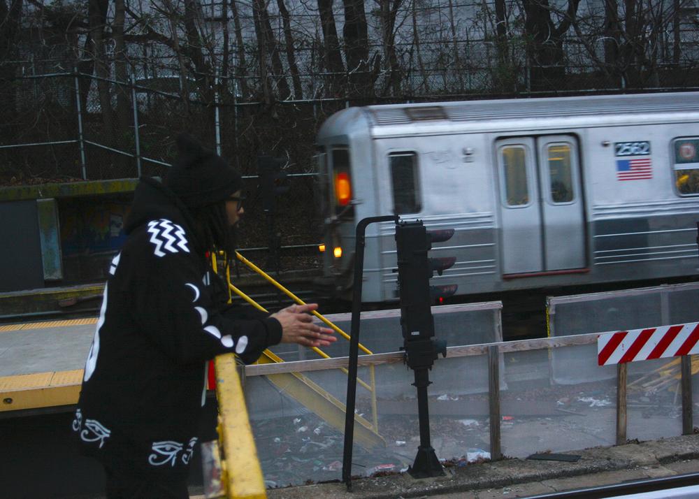 Nirvana (Mishka NYC  Men's Streetwear) Langston Black aka Lang$to Image 9