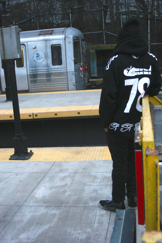 Nirvana (Mishka NYC  Men's Streetwear) Langston Black aka Lang$to Image 12