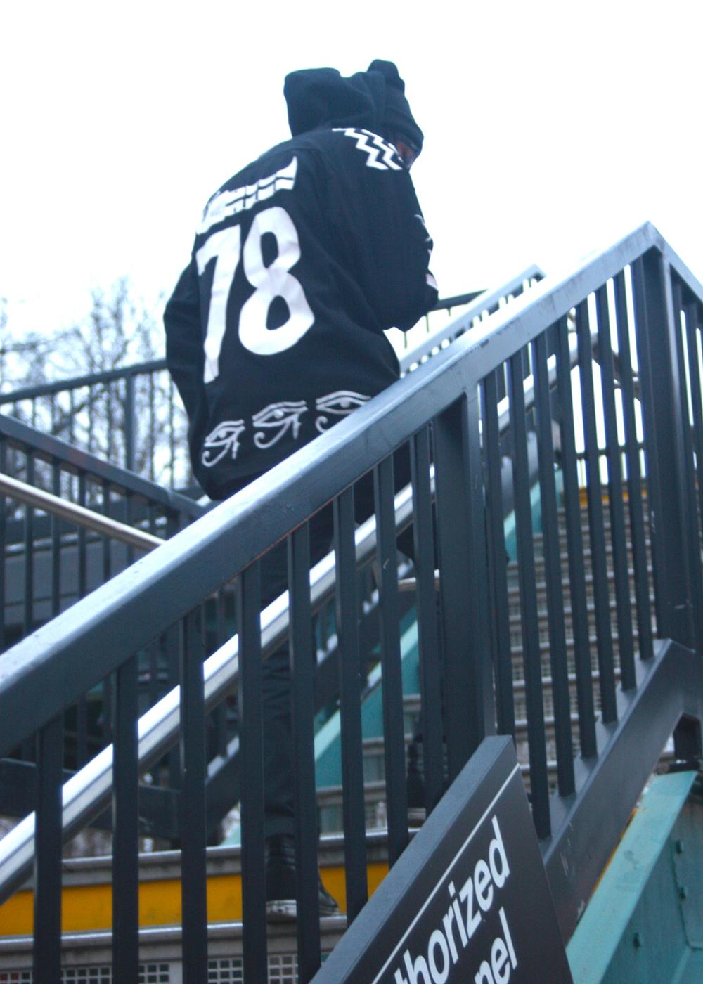 Nirvana (Mishka NYC  Men's Streetwear) Langston Black aka Lang$to Image 15