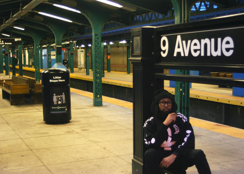 Nirvana (Mishka NYC  Men's Streetwear) Langston Black aka Lang$to Image 23