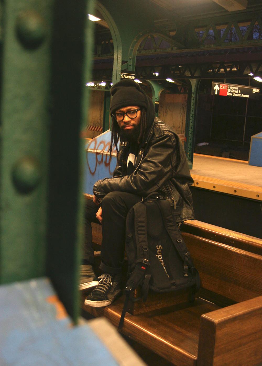 Nirvana (Mishka NYC  Men's Streetwear) Langston Black aka Lang$to Image 28