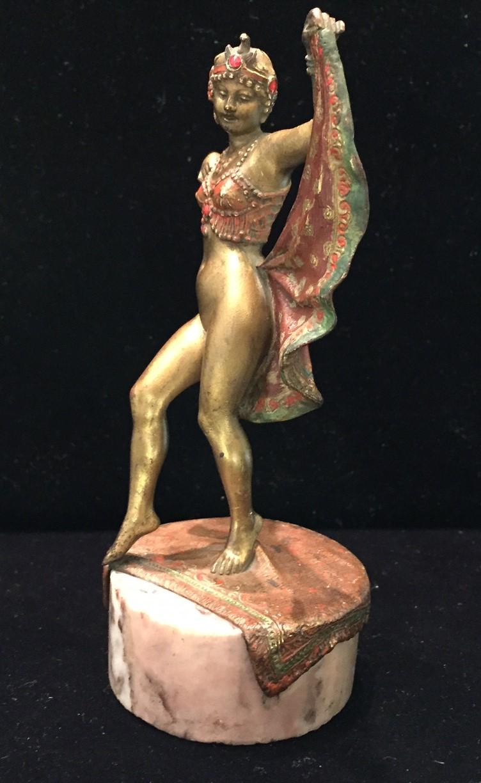 Oriental Dancer by Franz Xavier Bergman (3).JPG