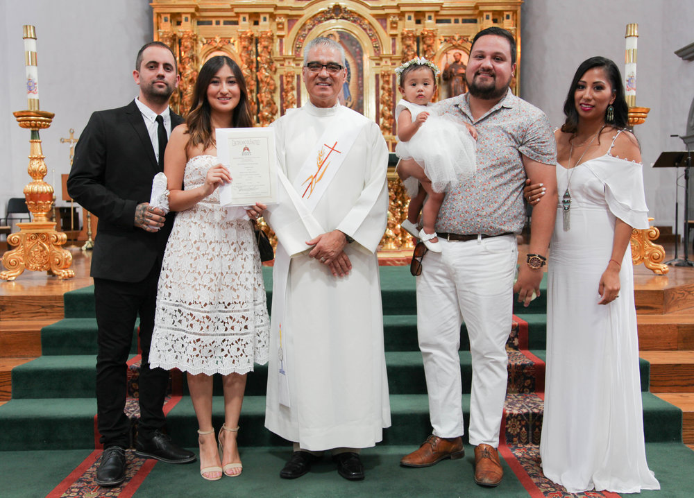 Its official Eddie & Christina are the Godparents