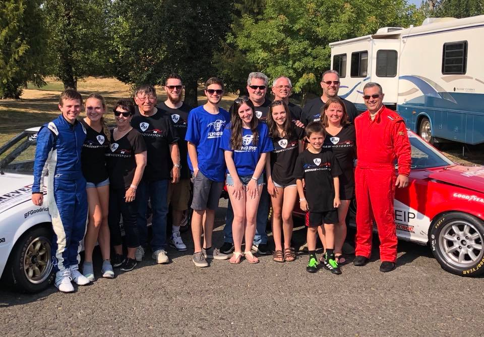 The Bradshaw Motorsports Team - Dash for Kids Race 2018