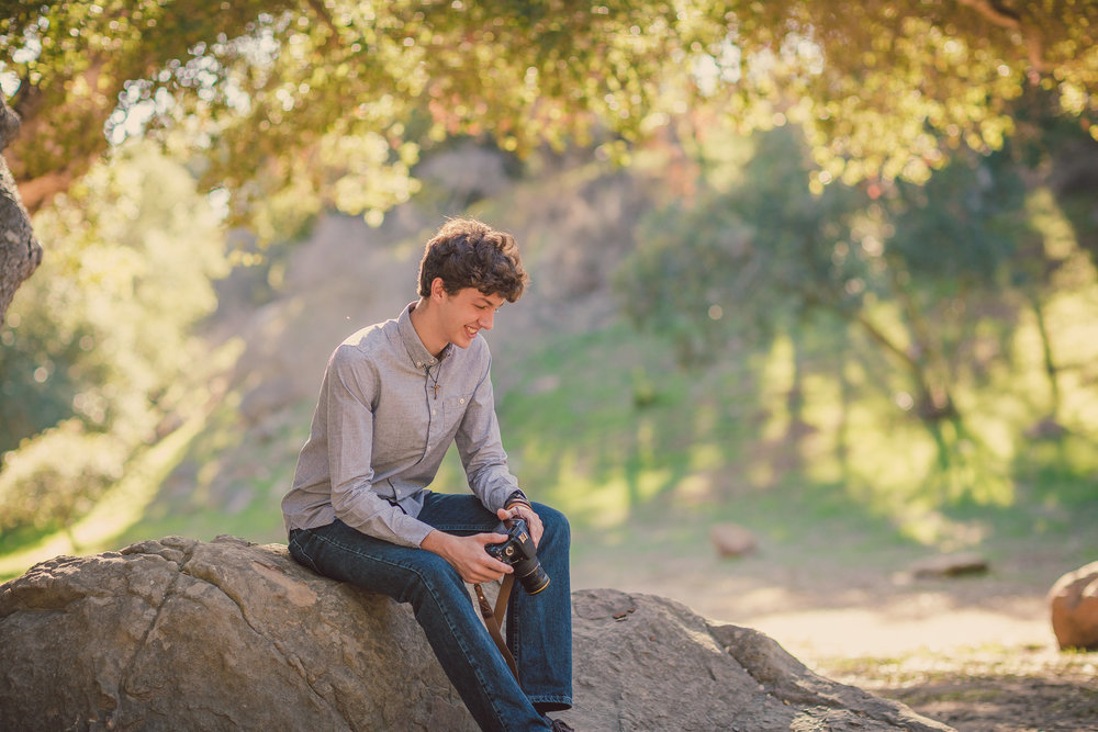 Senior Portrait Session, Santa Barbara, CA / Stevenson Park