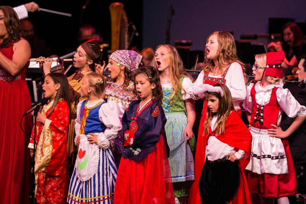 """""""It's A Small World,"""" Children's Choir"""